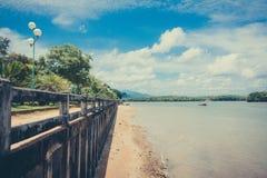 río interior Foto de archivo