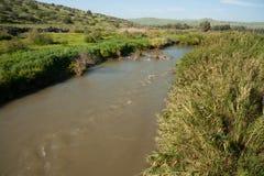 Río Jordán Fotografía de archivo