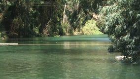 Río Jordán Israel metrajes