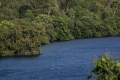 Río Kali - como se ve en Ganeshgudi foto de archivo