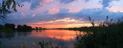 Río Kirpili Imagen de archivo