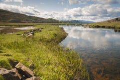 Río Kishorn Foto de archivo libre de regalías