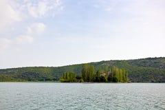 Río Krka foto de archivo libre de regalías
