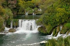 Río Krka Foto de archivo