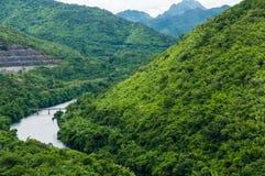 Río Kwai Foto de archivo