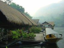 Río Kwai en la madrugada imágenes de archivo libres de regalías