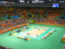 Río 2016 - la arena hace Futuro Foto de archivo libre de regalías