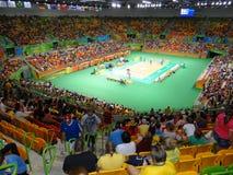 Río 2016 - la arena hace Futuro Imagenes de archivo