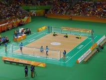 Río 2016 - la arena hace Futuro Imagen de archivo libre de regalías
