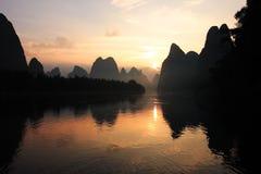 Río Li Imagen de archivo libre de regalías