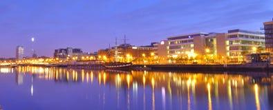 Río Liffey Dublín Fotos de archivo libres de regalías