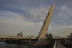 Río 2016: Los trabajos del metro pueden retrasar debido a la crisis económica Fotografía de archivo libre de regalías