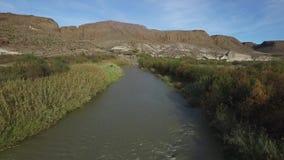 río magnífico nacional de parque-Río de la curva grande metrajes