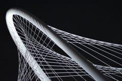 Río Margaret Hunt Hill Bridge de Triity en Dallas Texas imagen de archivo libre de regalías