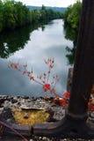 Río meridional de la porción de Francia escénico Foto de archivo libre de regalías