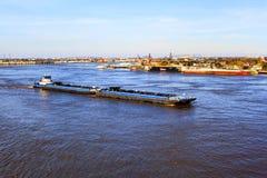 Río Misisipi poderoso Imágenes de archivo libres de regalías