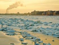 Río Neva Fotografía de archivo libre de regalías