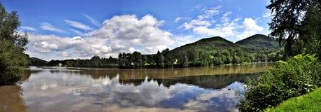 Río Ohre Foto de archivo