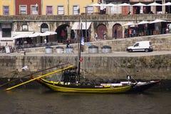 Río Oporto Portugal del Duero Foto de archivo
