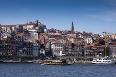Río Oporto Portugal del Duero Imagen de archivo libre de regalías