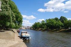 Río Ouse de York Imagenes de archivo