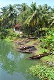 Río Pangandaran, Indonesia Fotografía de archivo libre de regalías