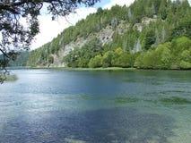 Río patagón Foto de archivo libre de regalías