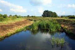Río Plitvica Fotografía de archivo