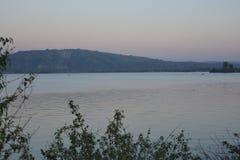 Río Pong Dam de Beas Foto de archivo libre de regalías
