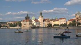 Río Praga, Praga de Moldava metrajes