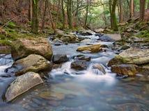 Río que fluye fotos de archivo