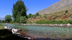 Río que fluye, Munzur Tunceli almacen de video