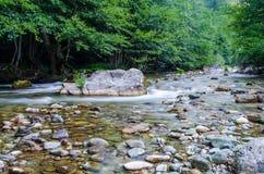 Río Radika Fotos de archivo