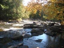 Río rocoso Imágenes de archivo libres de regalías