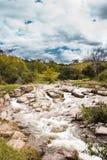 Río rocoso Imagen de archivo