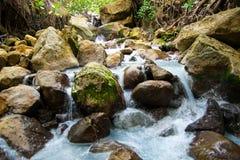 Río rocoso Foto de archivo libre de regalías