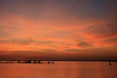 Río rosado Fotos de archivo libres de regalías