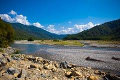 Río seco Imagen de archivo libre de regalías