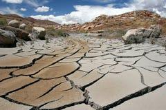 Río seco. Fotos de archivo