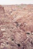 Río seco | Badlands Imagen de archivo