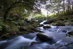 Río sedoso Foto de archivo libre de regalías