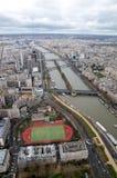 Río Seine Foto de archivo libre de regalías