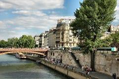 Río Seine Fotos de archivo