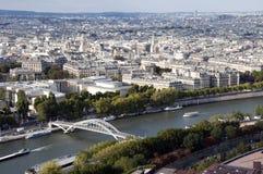 Río Seine en París Foto de archivo libre de regalías