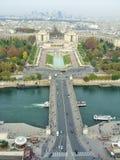 Río Sena París Fotos de archivo libres de regalías