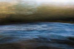 Río Shannon Abstract Imágenes de archivo libres de regalías