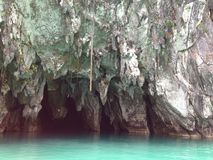 Río subterráneo de Puerto Princesa imagen de archivo libre de regalías
