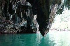 Río subterráneo - una de las siete maravillas naturales del mundo, está situado en la isla de Palawan Filipinas Fotos de archivo libres de regalías