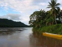 Río Tarapoto, Perú de Urubamba Imagen de archivo