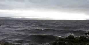 Río Tay, Dundee Escocia Foto de archivo